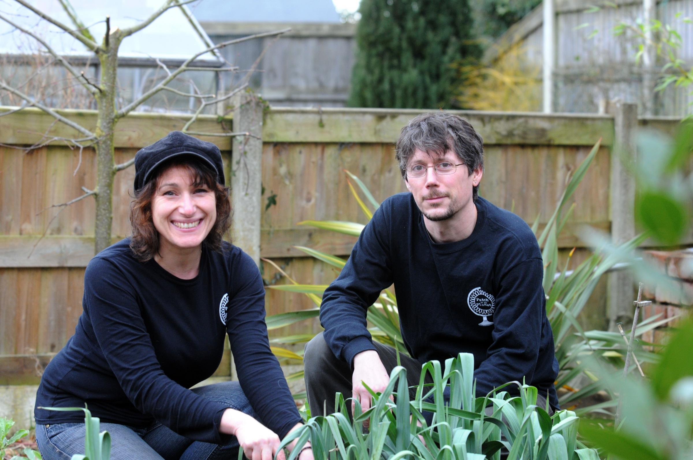 Gardeners Neil and Dina from Patch of the Planet