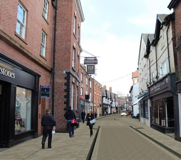 Knutsford town centre