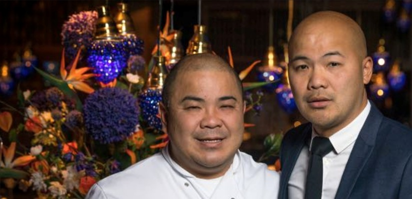 Brothers Victor (left) and Vinny Yu (right) owners of Yu Alderley Edge