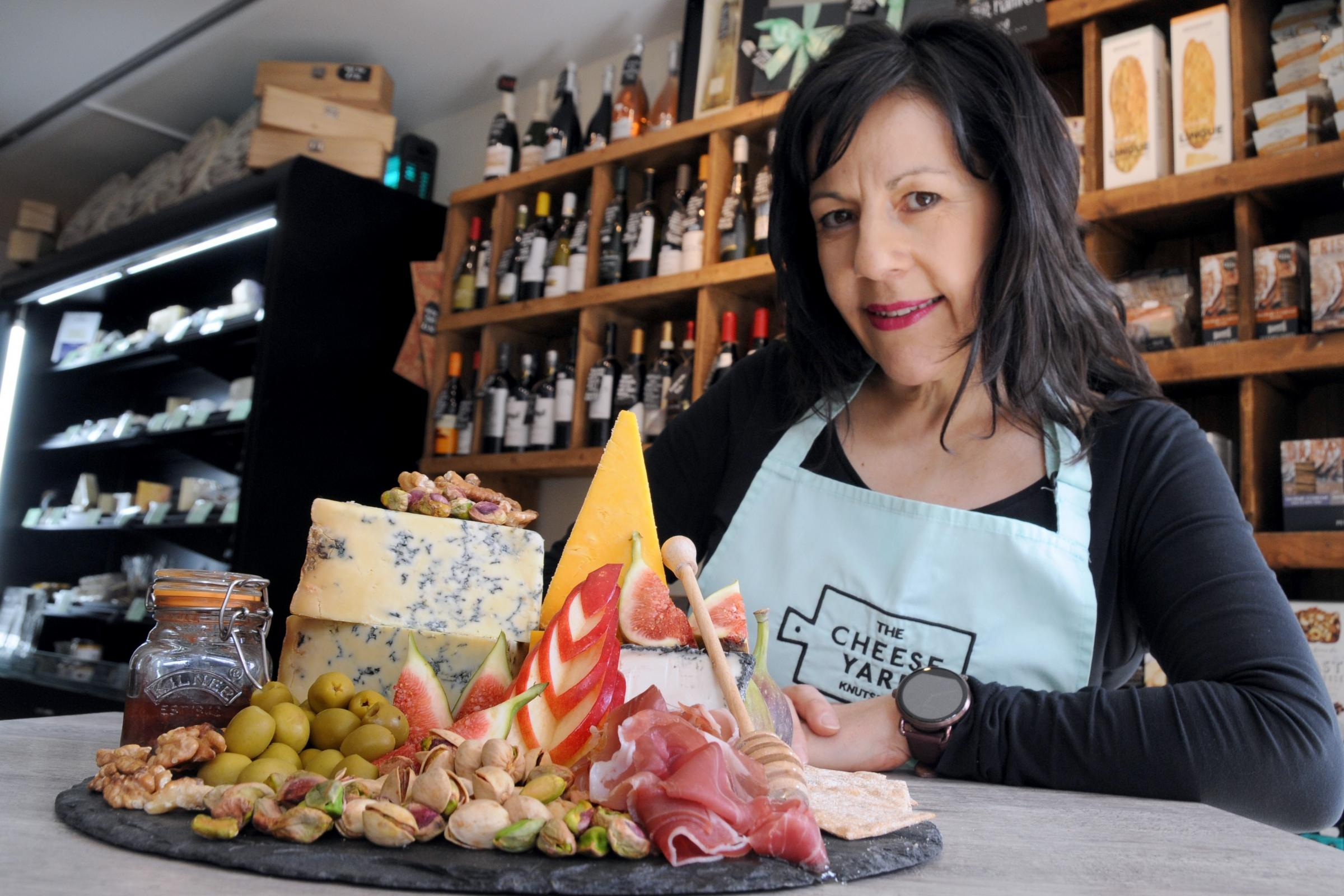 Sarah Peak from The Cheese Yard in King Street is backing the food tour idea