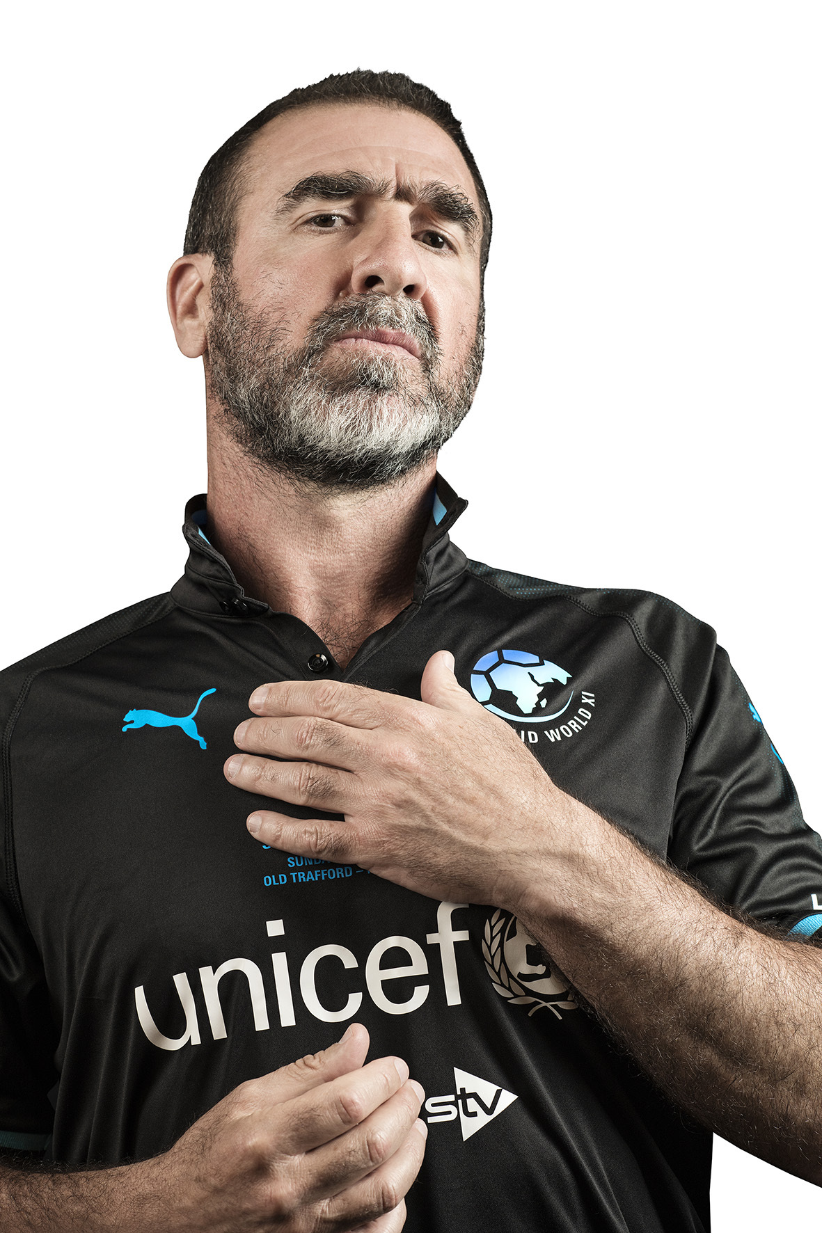Manchester United legend Eric Cantona will make a stunning Old Trafford return on Sunday 10th June to take part in Soccer Aid for Unicef.