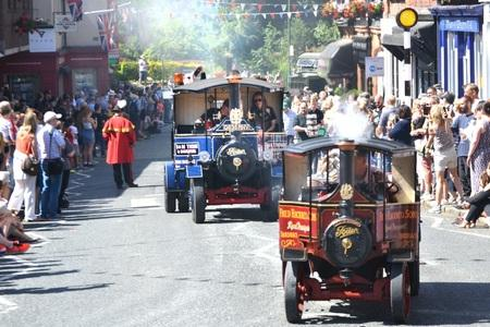 Knutsford Guardian: Lymm Transport Day