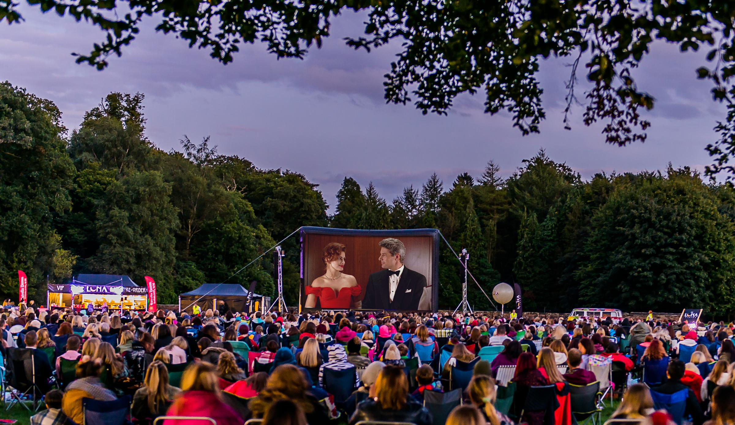 The outdoor screenings take place at Tatton Park
