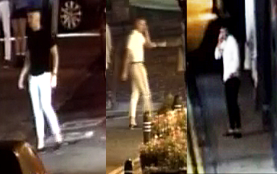 CCTV images released after two men are assaulted in Knutsford