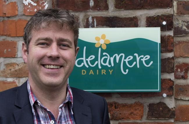 Ed Salt, managing director of Delamere Dairy, wants to see Britain get a good deal