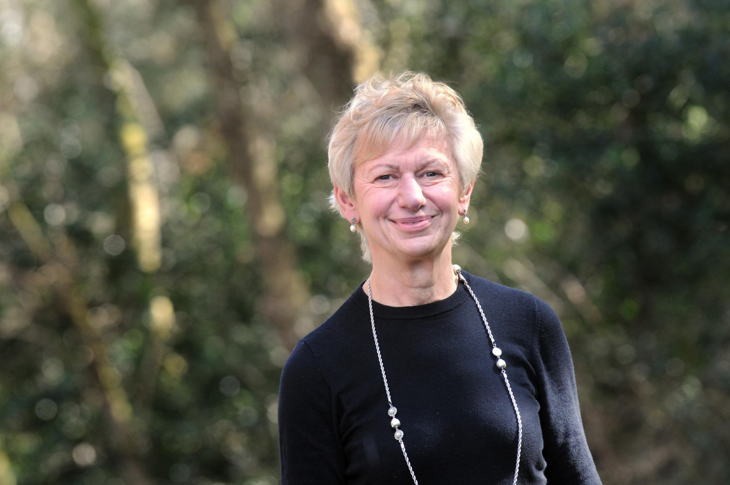 Cllr Rachel Bailey, leader of Cheshire East Council.