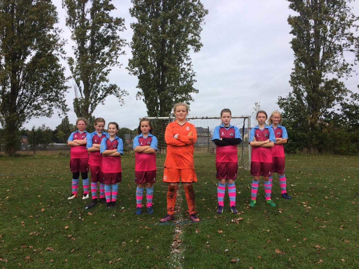 Cuddington and Sandiway Girls U11s