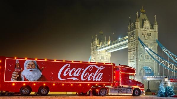 Coca-Cola truck is visiting the Trafford Centre this Christmas. Pic credit: Coca-Cola