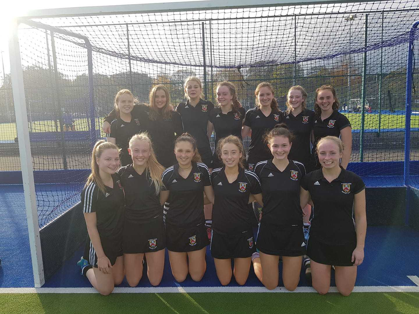 Alderley Edge Hockey Club under 18s girls' team