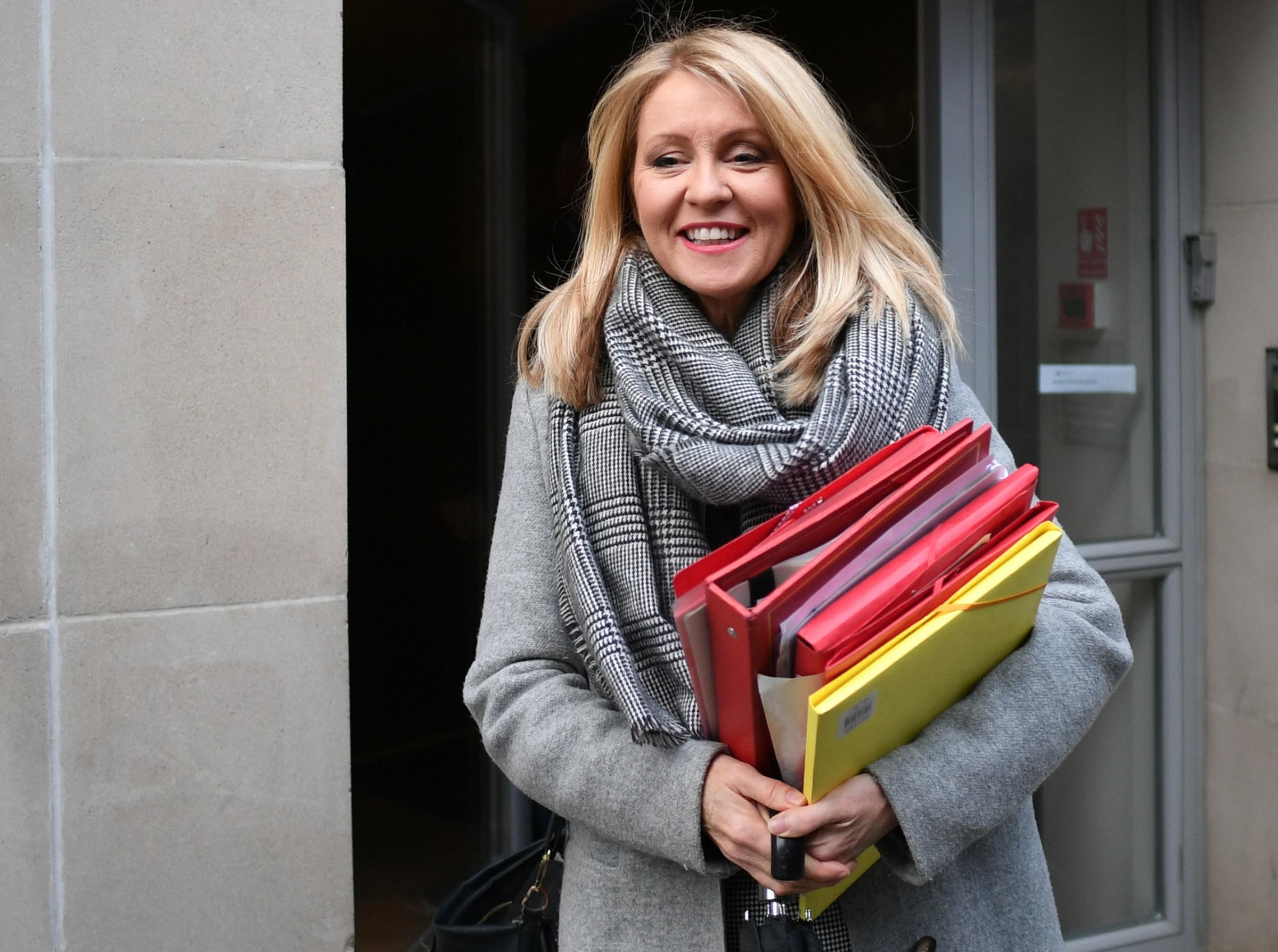 Esther McVey MP wrote to Cllr Meardon about the matter. Image: Stefan Rousseau/PA Wire.