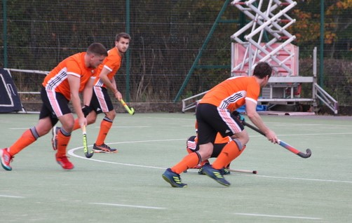 Action from Wilmslow men's firsts' victory over Newcastle University