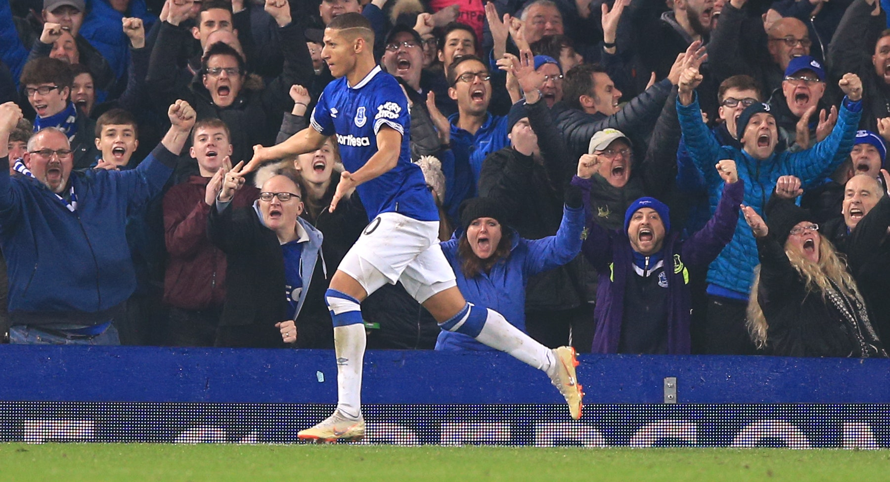 Richarlison scored Everton's equaliser against Newcastle