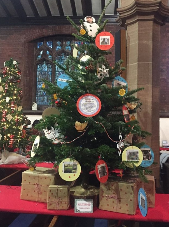 The council's tree at the St Cross festival