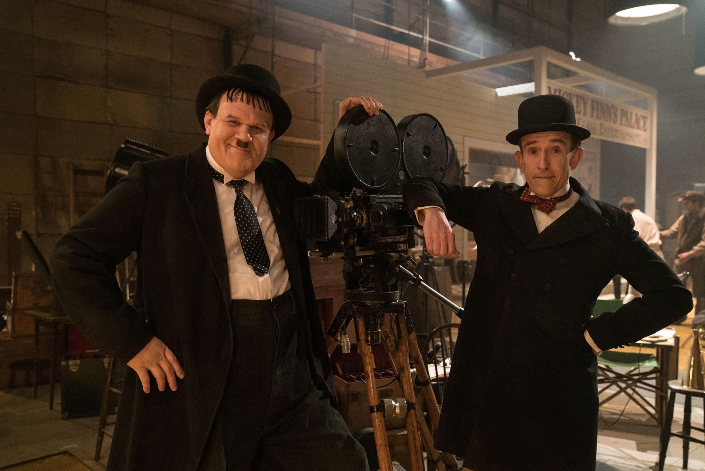 John C. Reilly as Oliver Hardy and Steve Coogan as Stan Laurel