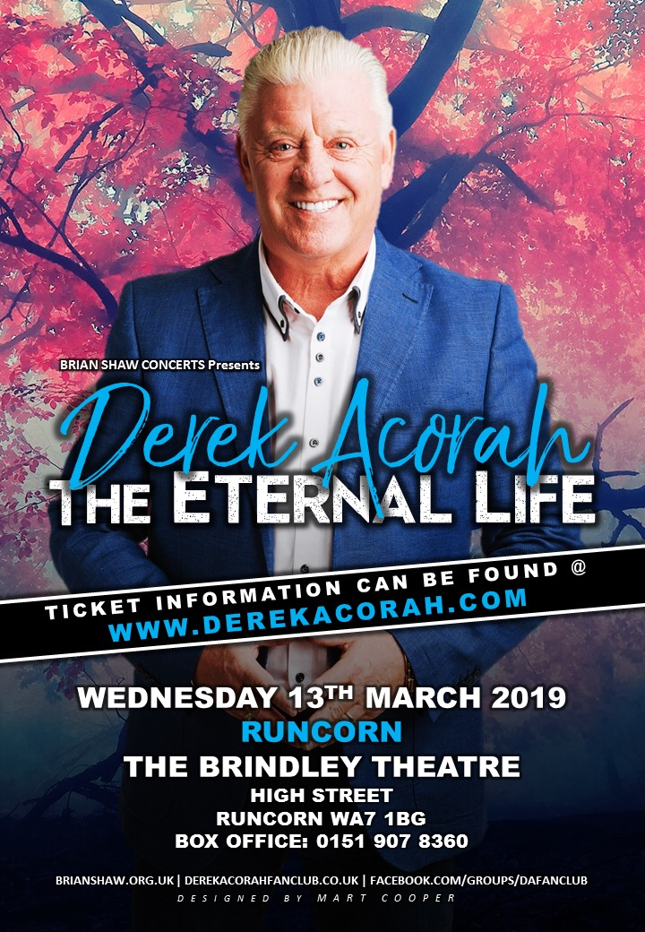 DEREK ACORAH ETERNAL LIFE TOUR