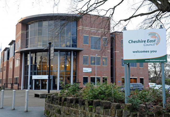 Cheshire East Council\'s Westfields offices in Sandbach