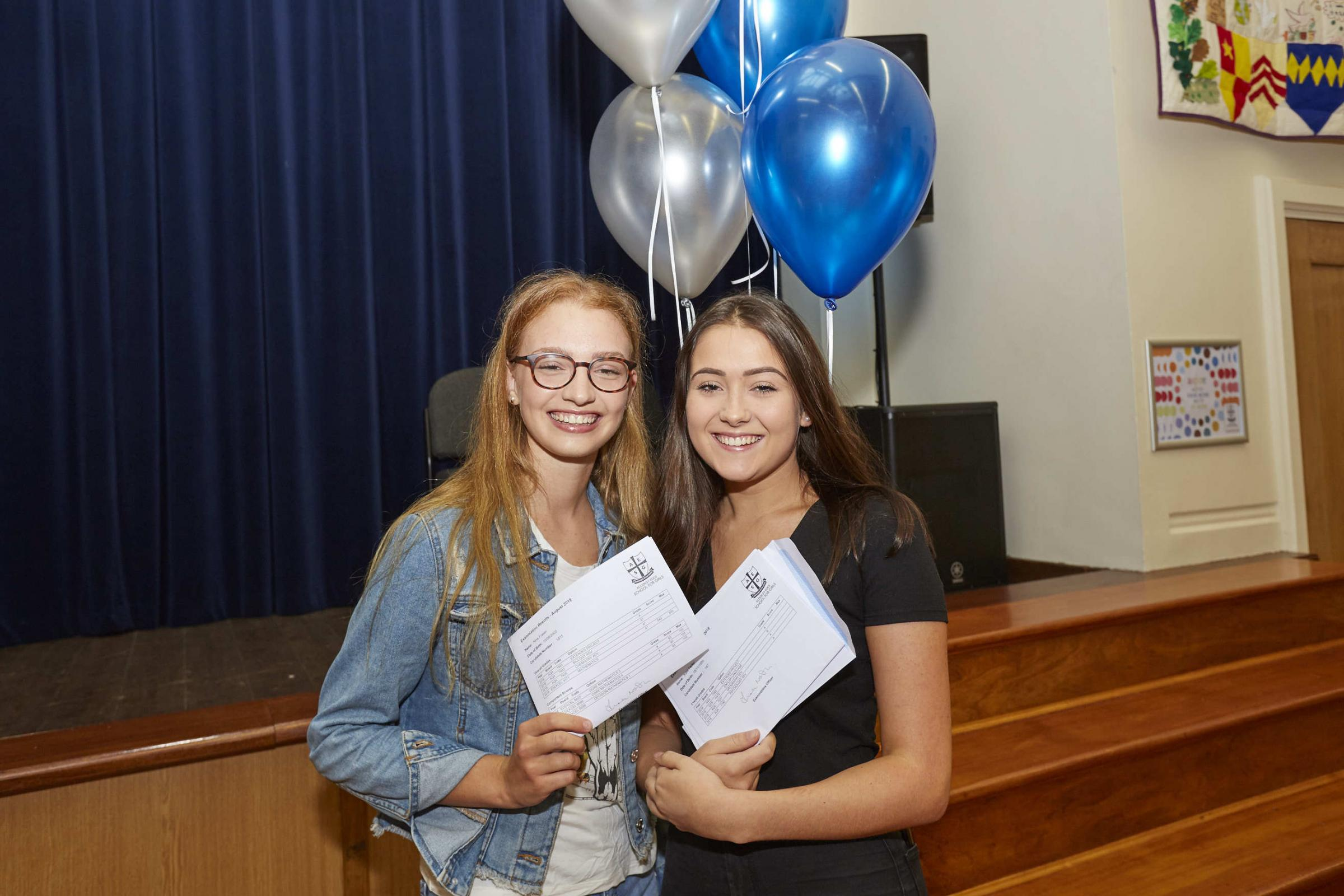 Students celebrate their successes