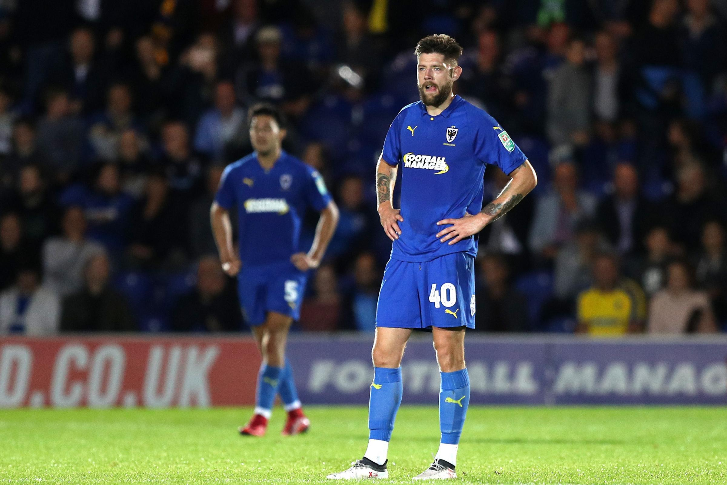 AFC Wimbledon v West Ham United – Carabao Cup – Second Round – Cherry Red Records Stadium