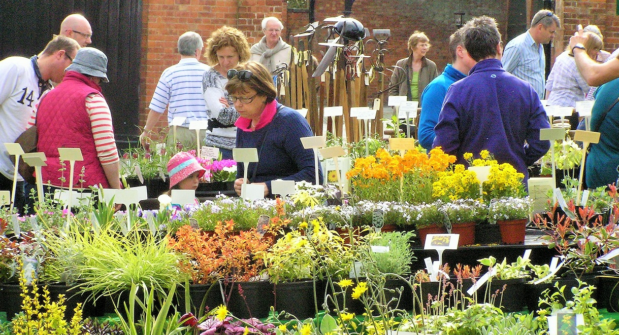Spring Plant Fair at Sugnall Walled Garden on Saturday 23rd March
