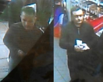 CCTV images of the men police wish to speak to