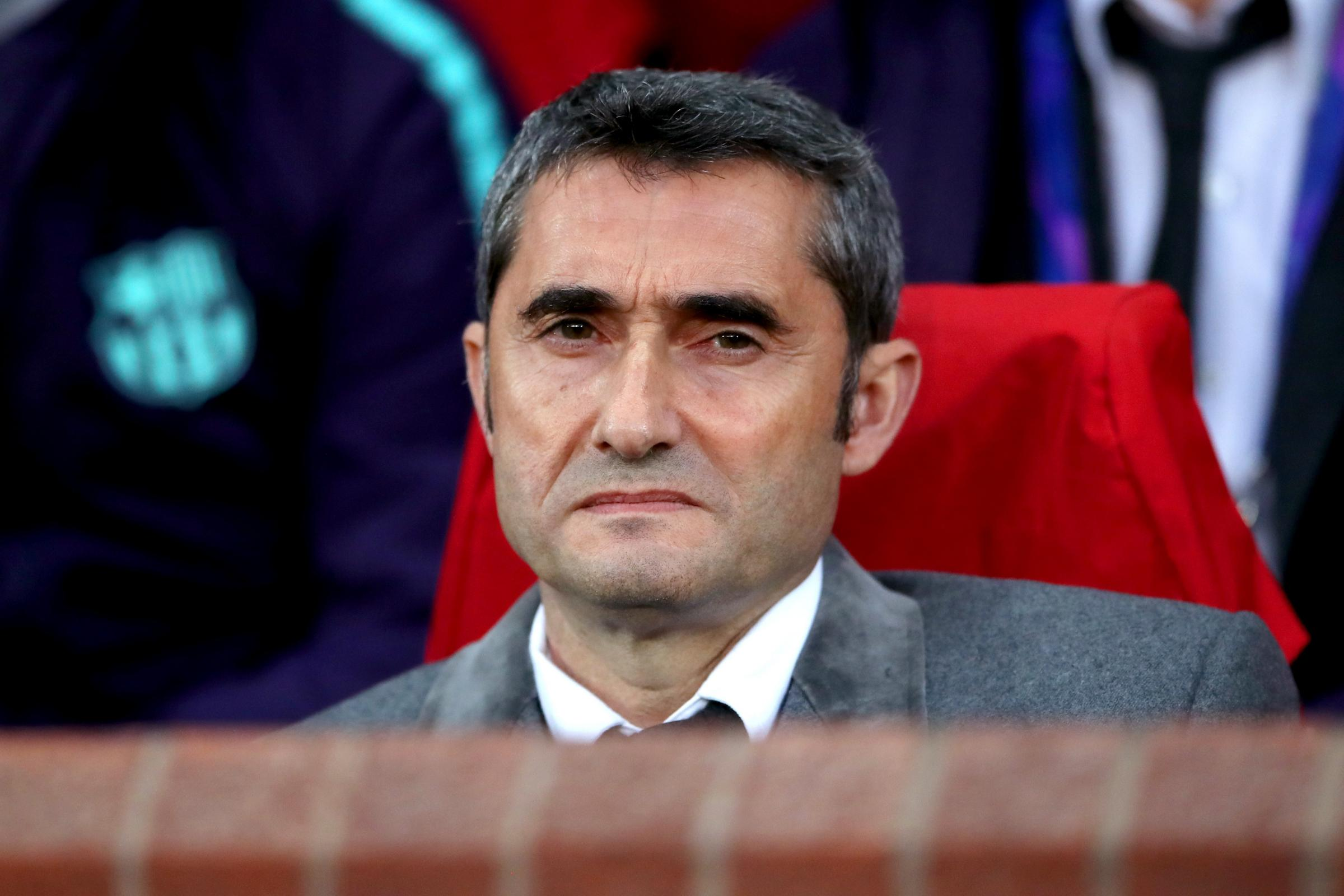 Ernesto Valverde warned his side still have work to do to secure the title