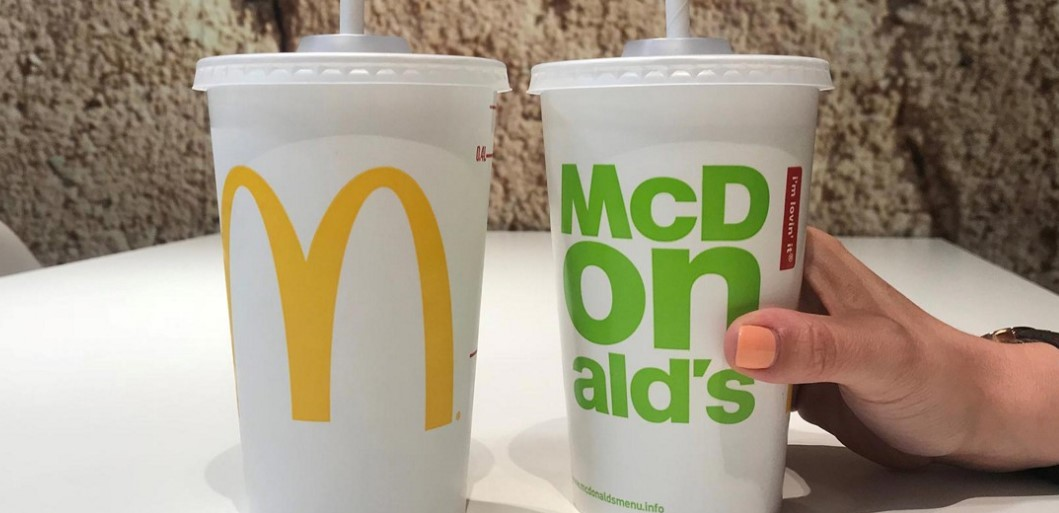 Thousands sign petition calling for McDonald's to scrap paper straws. Pic credit: McDonald's