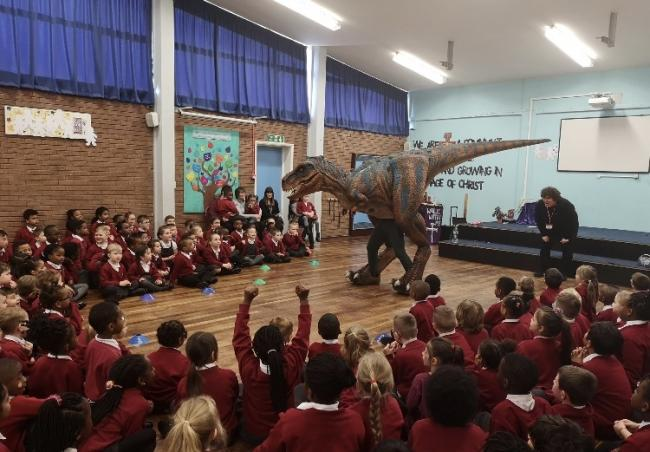 Teach Rex could be visiting your child's school