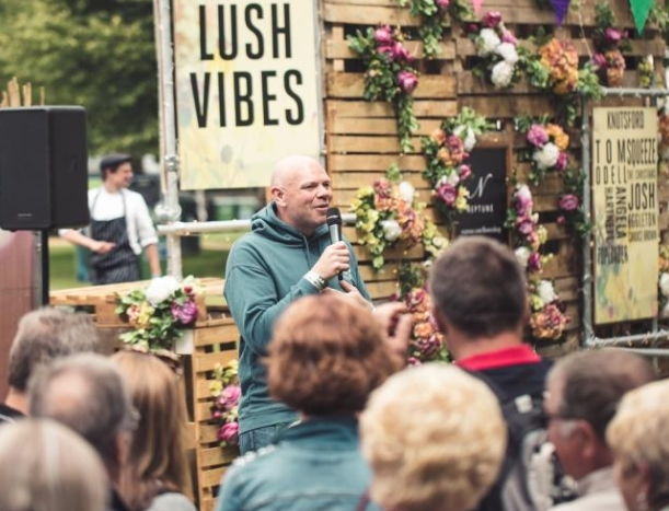 Tom Kerridge at Knutsford Pub in the Park