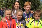 Smart Financial Canute Kids Duathlon winners at Lymm High School. Picture: Helen Murray