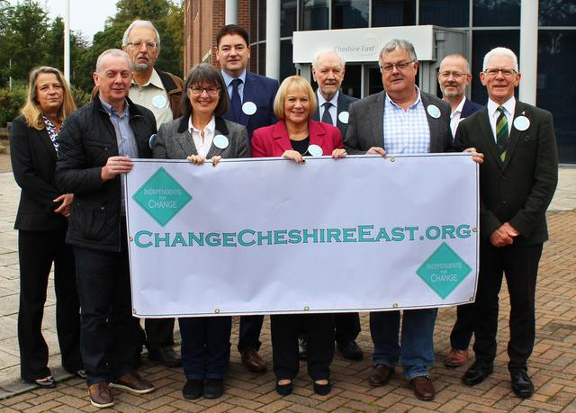 Independent councillors launched a petition to 'Change Cheshire East' last year