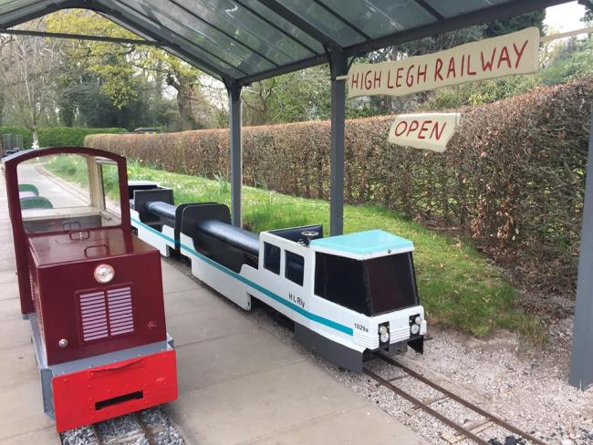 The miniature railway is based at High Legh Garden Centre. Pic credit: High Legh Miniature Railway Facebook page