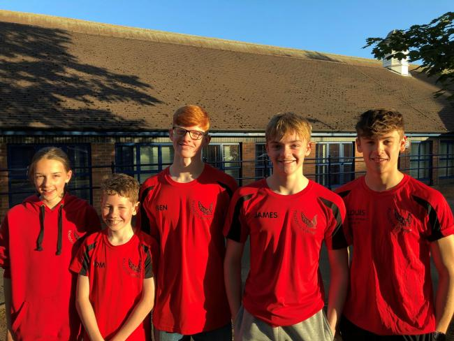Clockwise from top, some of the Knutsford Vikings swimmers that took part in the Swim England North West Summer Championships over three weekends at Manchester Aquatics Centre