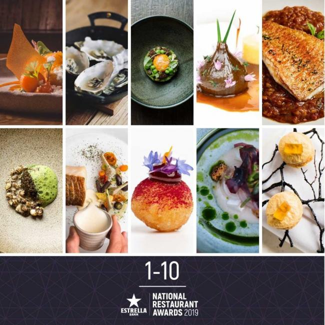 Moor Hall in Lancashire has been named the best restaurant in the country. Pic credit: The National Restaurant Awards