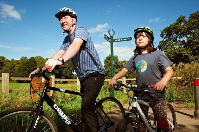 The 'cycling champion' will work to promote cycling for all age groups across the borough