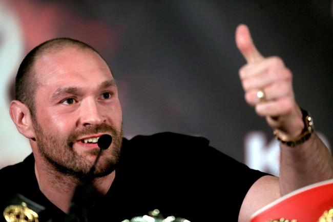 Tyson Fury. Picture: PA Wire