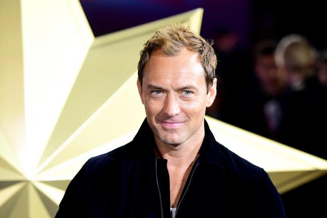 Jude Law on the red carpet